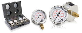 Pressure gauges and accessories