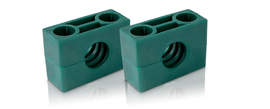 Pipe clamps, heavy series