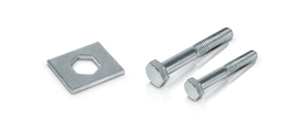 Accessories for pipe clamps, heavy series